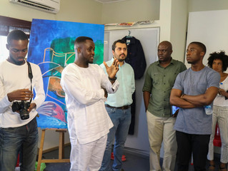 Artist Talk and Studio Visit with Dipo Doherty and Olumide Onadipe