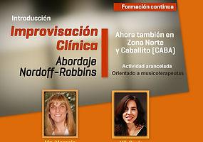 Talleres y actualizaciones sobre Improvsación Clínica para musicoterapeutas en APEM Argentina