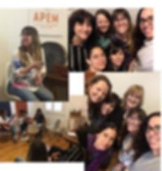 Capacitación Primeros Sonidos RBL,musicoterapia pra bebe prematuros y sus cuidadores en la UCIN
