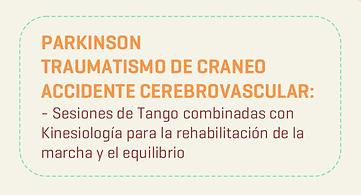 Tangoterapia Traumatismo de Craneo Accidente Cerebrovascular
