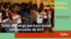 Taller de tango para personas con secuelas de ACV en Caballito Buenos Aires Beccar Zona Norte Tangoterapia. Francesca Fedrizzi. Clarissa Barcellos Machado