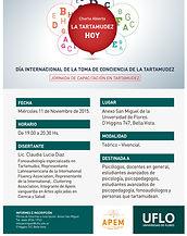 Tartamudez - Lic. Claudia Lucia Diaz - Fonoaudiologia