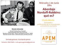 Abordaje Nordoff-Robbins Que es? Marcela Lichtensztejn en Argentina, musicoterapia music centrada en Buenos Aires