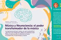 Musica y Neurociencia Marcela LIchtensztejn en el Programa Bioscopio, MACN