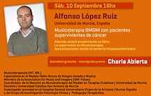 Alfonso López Ruiz presenta su libro en APEM Argentina | Musicoterapia GIM en Argentina