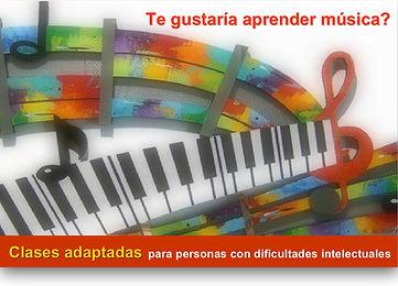 Clases adaptadas de música para personas con dificultades intelectuales, autismo, sindrome de down | APEM Argentina | Belgrano | Buenos Aires