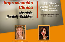 Workshop Improvisación Clinica |  Abordaje Nordoff-Robbins Marcela Lichtensztejn Paula Macchi