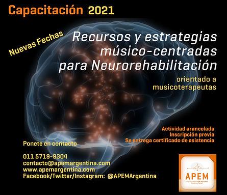 Estrategias musico-centradas en neurorehabiltiacion | Introducción a Nordoff Robbins