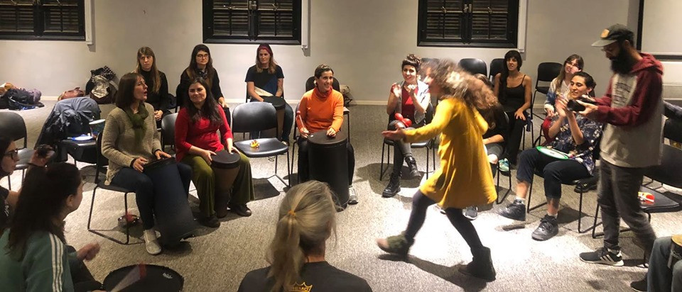 Drum Circle APEMArgeninta-Remo Inc Buenos Aires 2019