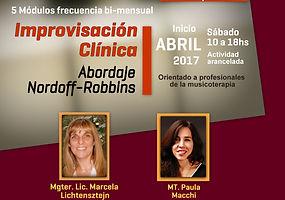 Improvisacion clinica basada en la musicoterapia musico-centrada en APEM Argentina