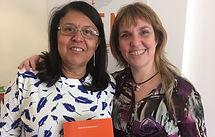 Rita Dultra de Salvador Bahía visita APEM Argentina