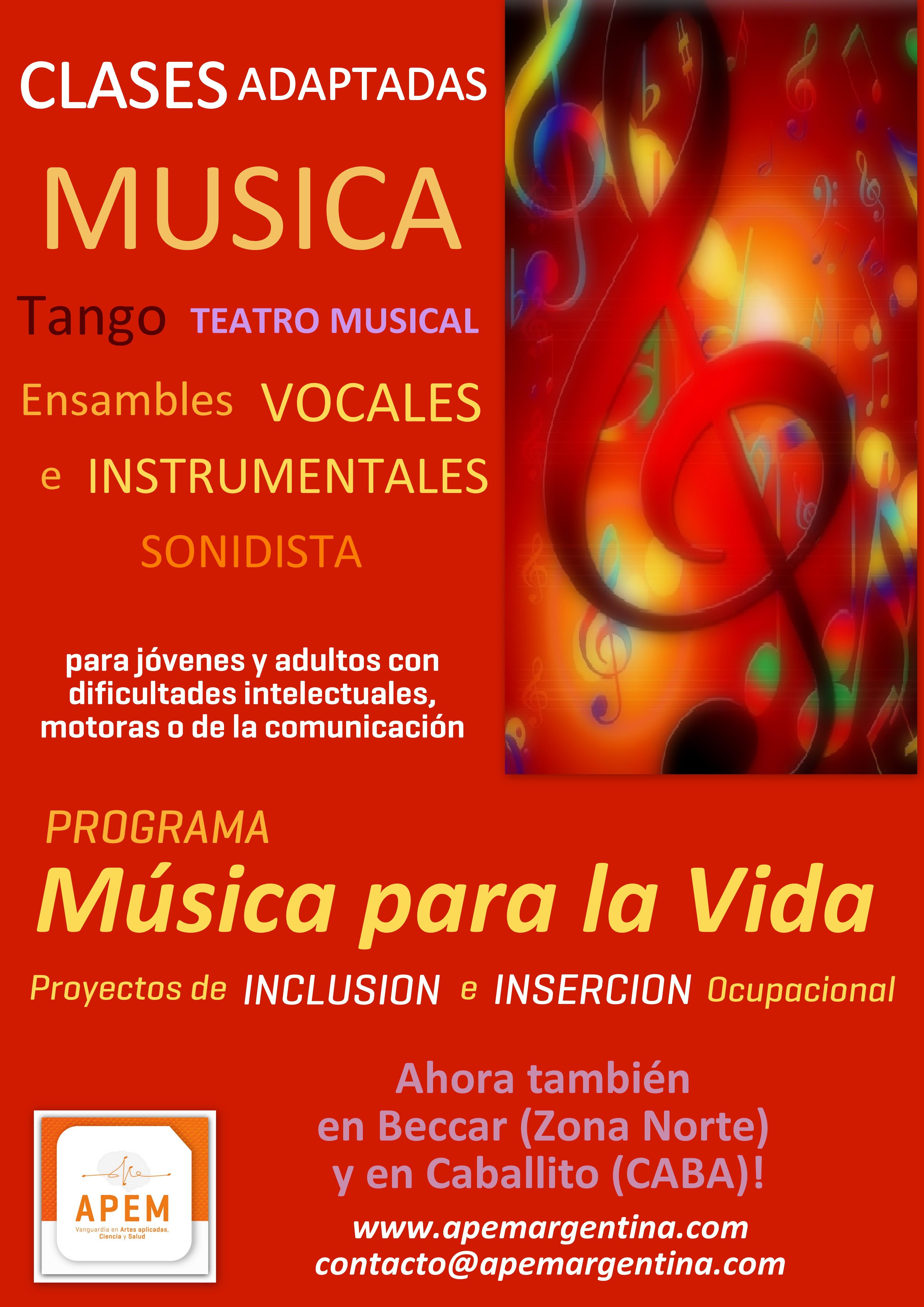Programa Musica para la Vida Beccar Caba