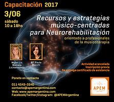 Estrategias basadas en musicoterapia musico-centrada con foco en neurorehabilitación