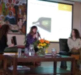 Marcela Lichtensztejn invitada en el Congreso Intrnacional de Danza Movimiento Terapia de la AADT