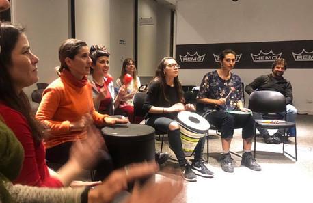 Drum Circle APEM Argentina-Remo Inc Buenos Aires 2019