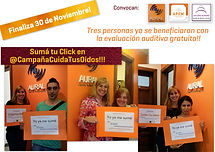 Campaña Cuidá Tus Oidos  APEM Argentina, Aural , Estudio Aurora 33