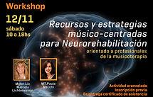 Musicoterapia en Neurorehabilitación en Buenos Aires,capacitacion para musicoterapeutas en Argentina