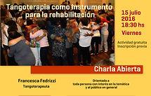 Francesca Fedrizzi Tangoterapia en Neurorehabilitación en Buenos Aires