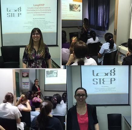 Ateneo Htal Fernandez: Proyecto LongSTEP Musicoterapia para bebé prematuros en la UCIN