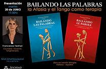 Bailando las Palabras de Francesca Fedrizzi, tangoterapia en Belgrano