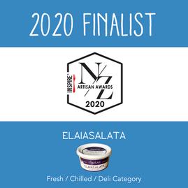 Elysian Foods is an NZ Artisan Awards Finalist!