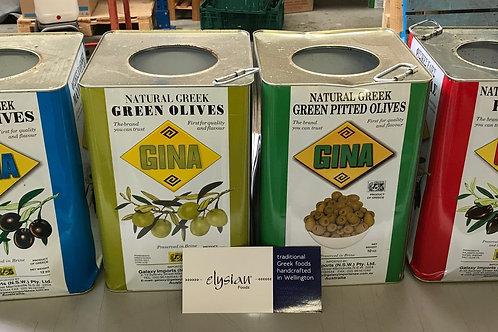Olives Tins - empty