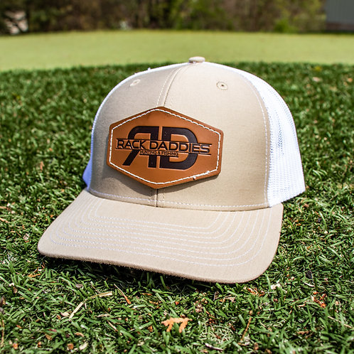 RD Leather - Tan/White