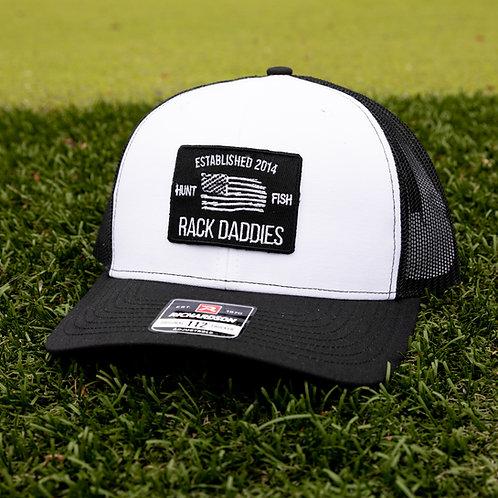 Black & White Flag Hat