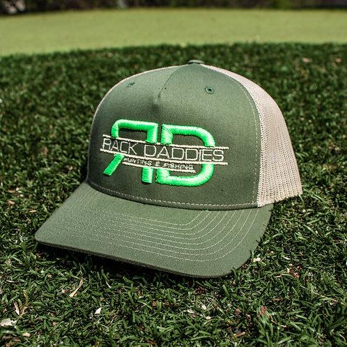 Signature Hat - Green & Tan