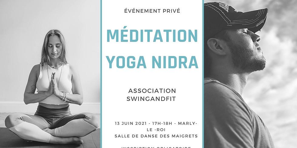 Séance de méditation Yoga-Nidra avec Swing and Fit