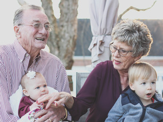 Canva - Grandmother and Grandfather Hold