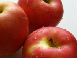 平凡のソース りんご