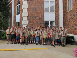 Group Picture Before Camp