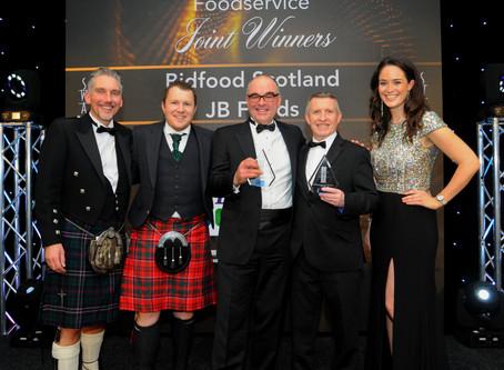 JB Foods makes its mark at Scottish Wholesalers Achievers Award
