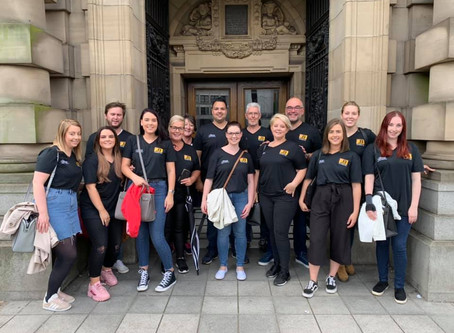 #TeamJB Enjoys Glasgow Food Tour