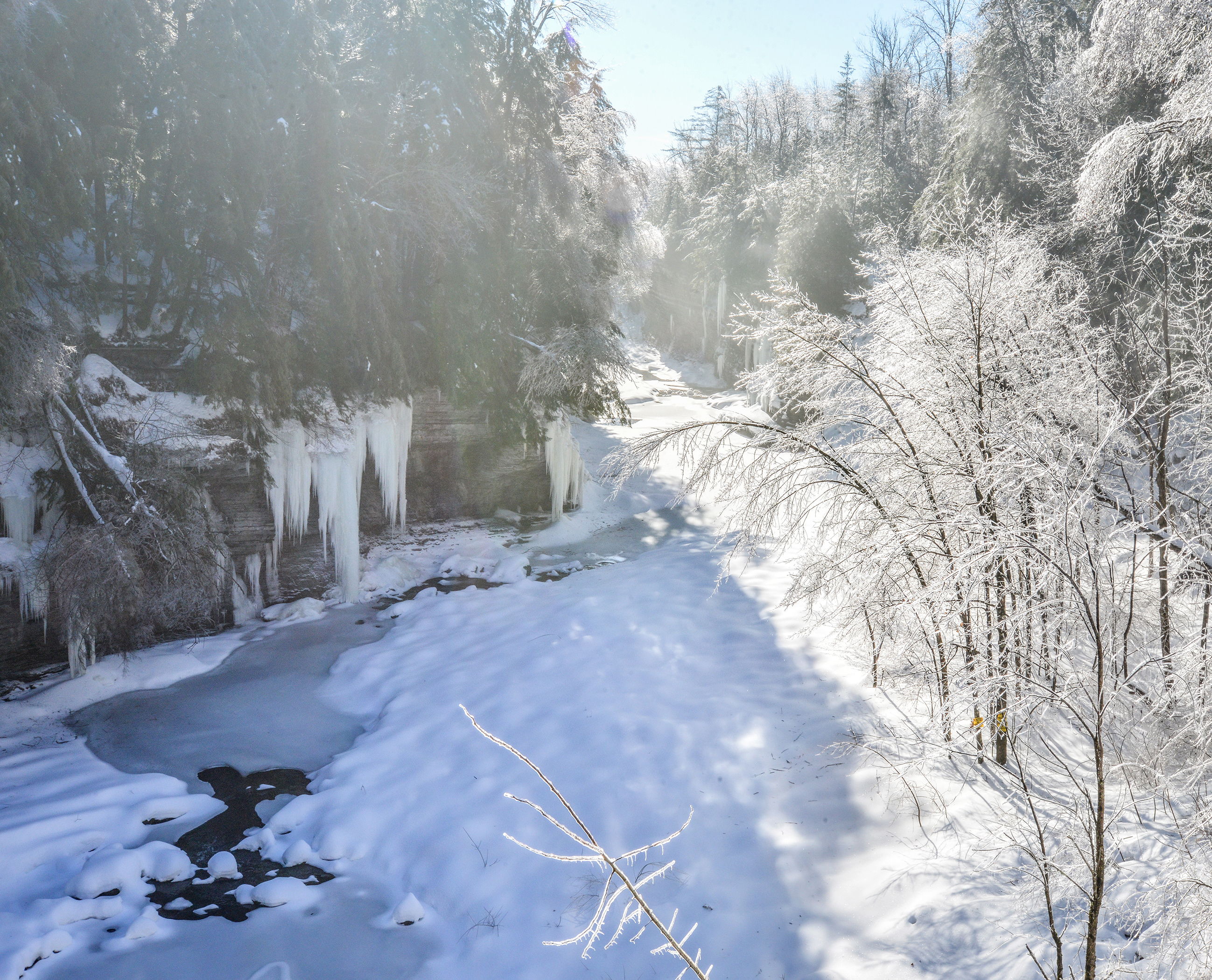 Prospect Gorge Icy Morn