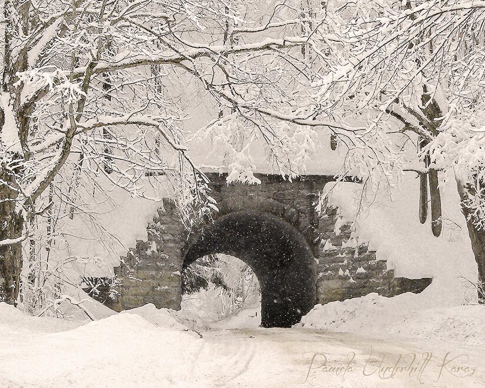 Snowy Arch