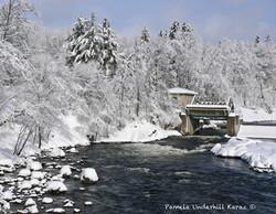 Mill Dam Winter Day