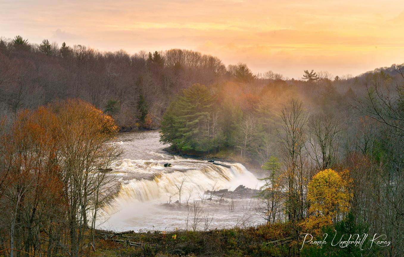 Prospect Falls - Sunrise Glow