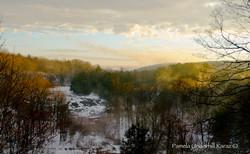 Prospect Falls Late Winter Morning