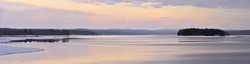 Hinckley Lake Winter Sunset