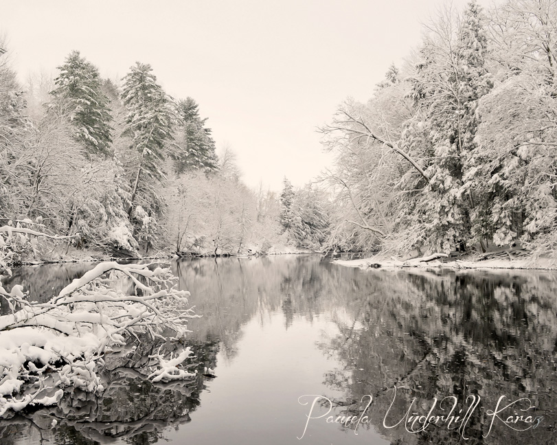 West Canada Creek Winter