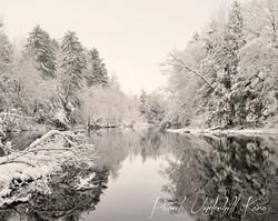 West Canada Creek Winter