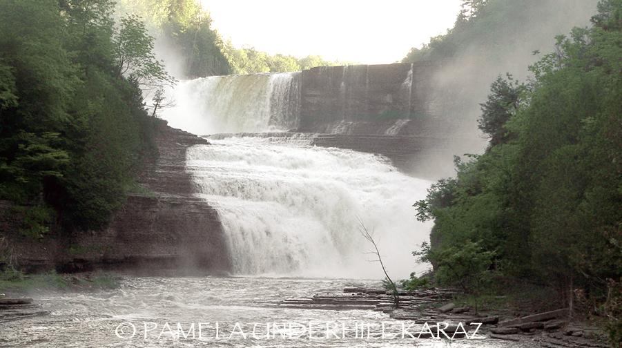 Trenton Falls High Falls Spring