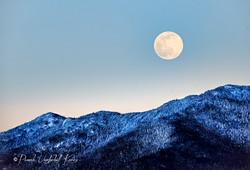 Full Snow Moon over the Sentinel Range II