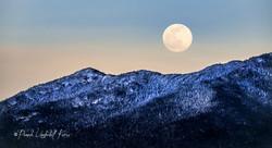 Full Snow Moon over the Sentinel Range I