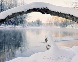 West Canada Winter Morning