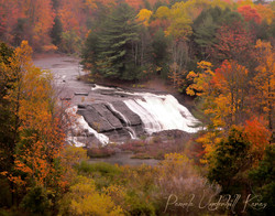 Prospect Falls at the Height of Fall