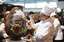 Salon du Chocolat Hong Kong 朱古力雕塑