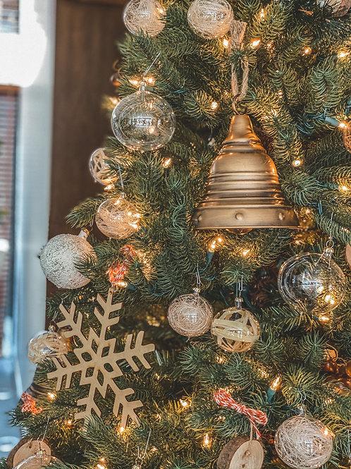 CHRISTMAS WOOD TREE